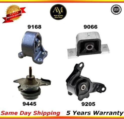 A4579 Engine /& Trans Mount Set For Honda Element AUTO 2.4 A4504 A6597 A4573