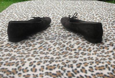 Peter Kaiser Marrón Gamuza Cuero Zapatos Talla Reino Unido 7, EU 40, EE. UU. 9