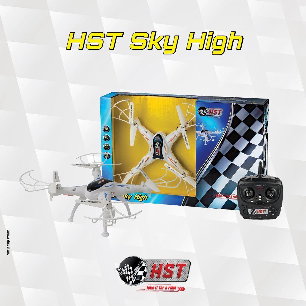 HST Sky High High High X9605 WIFI Air Drone Quadcopter 2.4Ghz Gyro USB Rechargable 702749