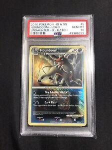 PSA-10-GEM-MINT-Pokemon-Houndoom-Reverse-Rare-5-90-X-Hatch-Holo