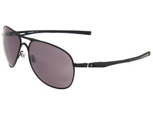 5f9ed7a9ba Image is loading Oakley-Plaintiff-Sunglasses-OO4057-01-Matte-Black-Warm-