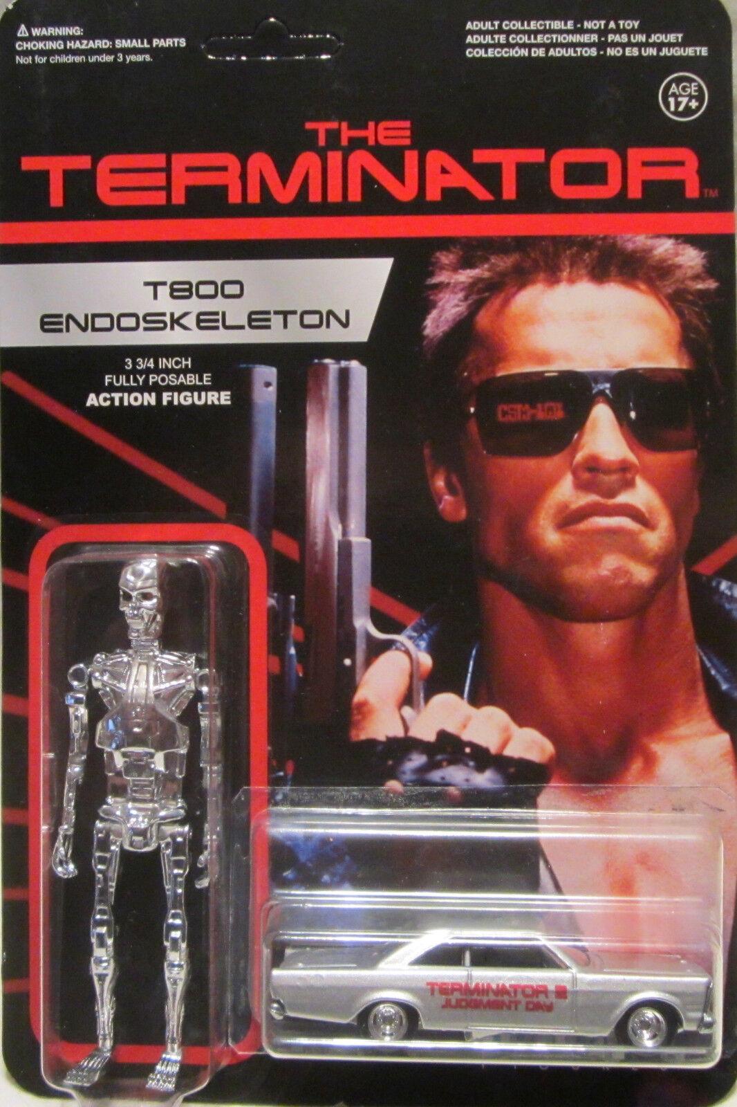 tiempo libre Hot Wheels a Medida '65 Ford Galaxie The Terminator Terminator Terminator Real Riders Edición Limitada  grandes ofertas