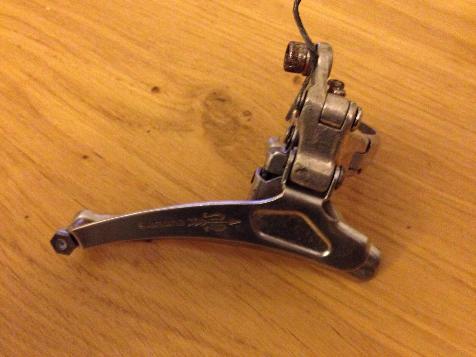 VINTAGE SHIMANO  goldEN ARROW FRONT DERAILLEUR  first-class quality