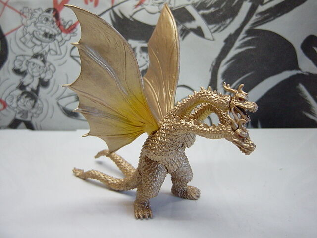BANDAI HG GODZILLA 7 KING GHIDORAH '65 TOHO Kaiju Gashapon Mini Figure Japan