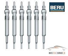 6 Original Stück BERU Glühkerze Set BMW E81 E46 E90 E91 E60 E61 X3 X5 X6