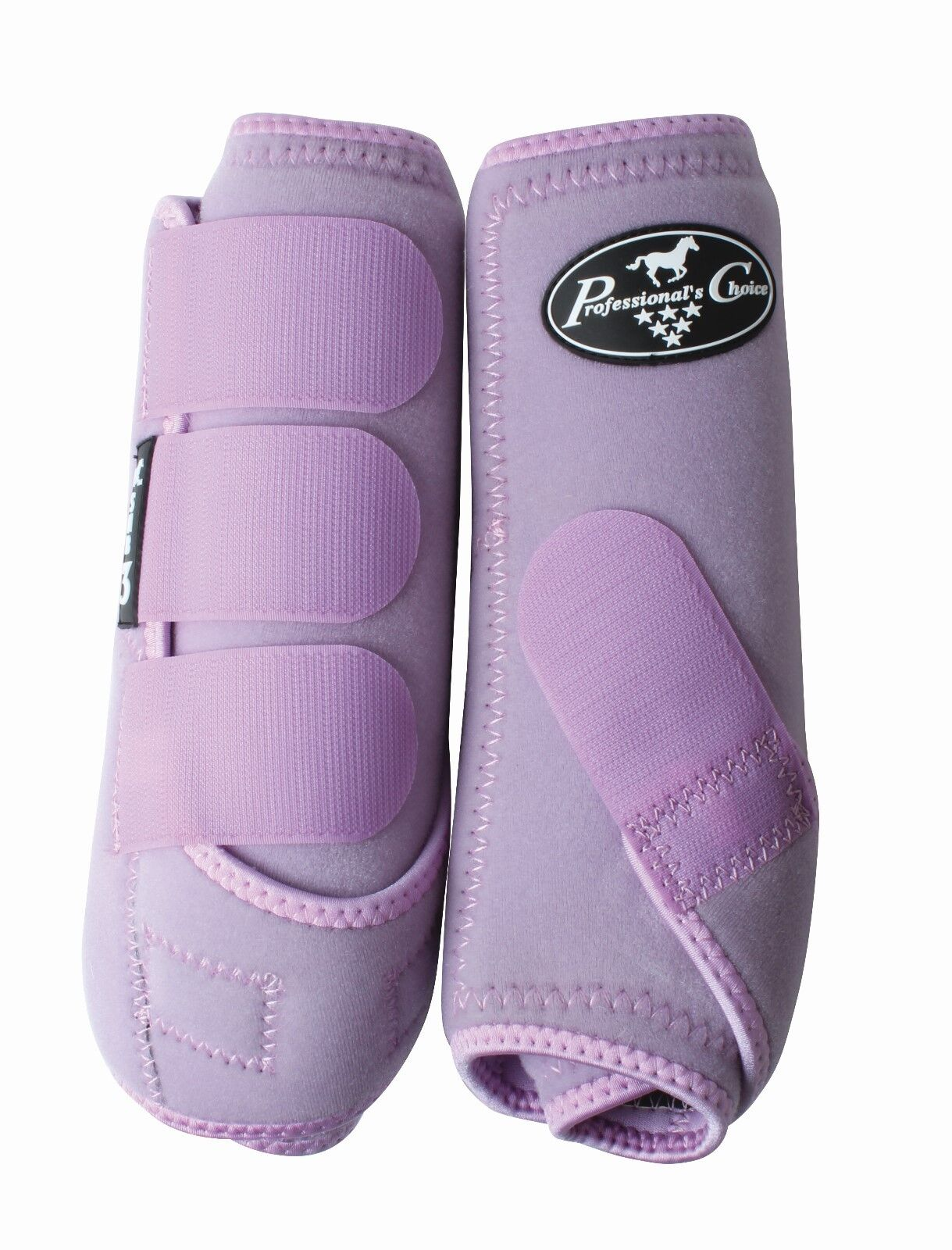 Professional's  Choice SMB3 Pair Horse Equine SMB Medicine Boots purplec Purple  be in great demand