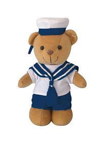 Mil-Tec Teddy Navy mit Kleidung Teddybär Kuschelbär Plüschbär Kuscheltier 20cm