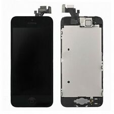 Black LCD Display Touch Screen Digitizer Assembly Replacement for iPhone 5