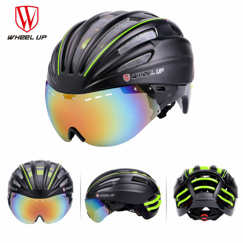 WHeeL UP Cycling Full Surround  Goggles Helmet Mountain Road Bike Bicycle 57-62cm  great selection & quick delivery