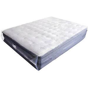 King Mattress Bag Moving Protector Heavy Duty Plastic Cover Reusable Storage New