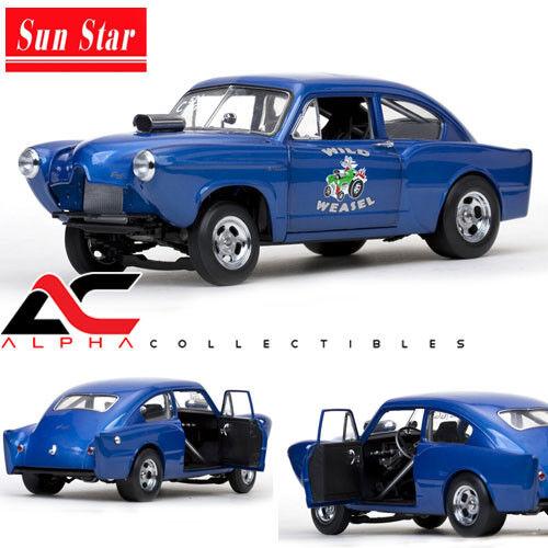 SUNSTAR SS-5098 1 18 1951 HENRY J KAISER GASSER   WILD WEASAL  Blau