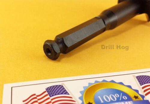 """Drill Hog USA 4-5//8/"""" Self Feed Bit Hole Saw 4-5//8/"""" Forstner Lifetime Warranty"""