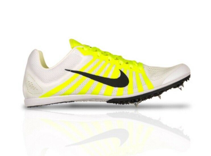 Nike Zoom D Distance Men's Track Field Running Shoes 819164 107 White Comfortable Seasonal clearance sale
