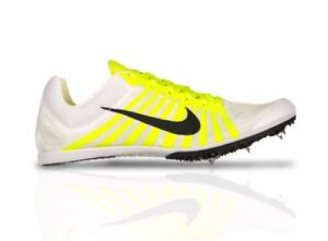 6fb95c45b8e0d9 Nike Zoom D Distance Men s Track Running Shoes 819164 107 White Size ...