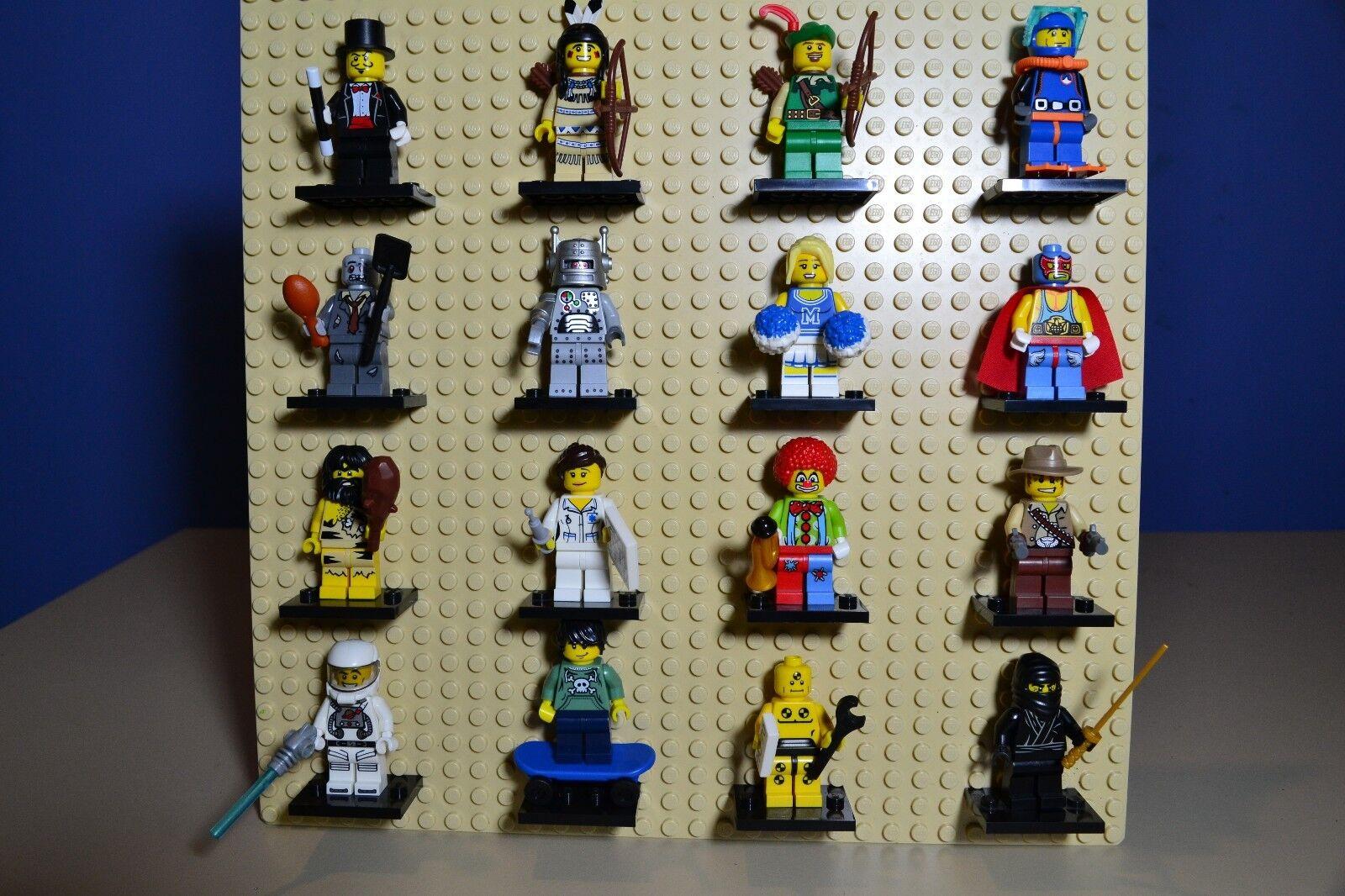 Minifiguras Lego Serie 1 (8683) juego completo de 16