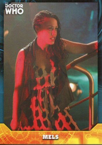Doctor Who Signature Series Base Card #59 Mels