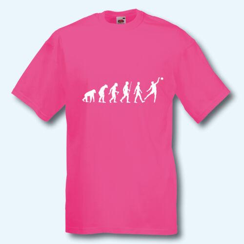 Evolution Beachvolleyball S-XXXL T-Shirt Fun-Shirt