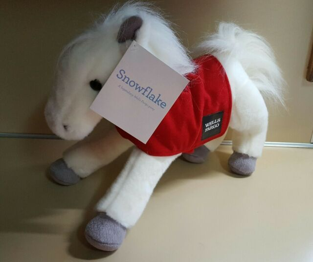 "Wells Fargo Legendary Horses ""Snowflake"" 2011"