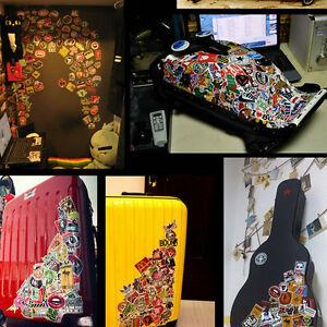 100-Waterproof-Skateboard-Longboard-Vintage-Vinyl-Sticker-Laptop-Decorate-BE
