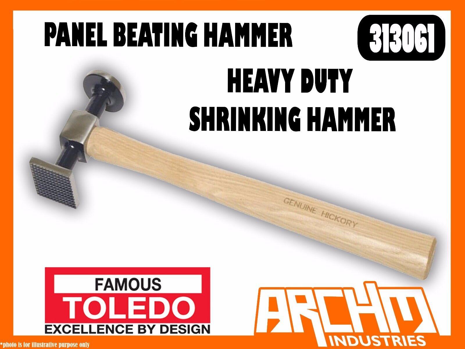 TOLEDO 313061 - PANEL BEATING HAMMER - HEAVY DUTY SHRINKING HAMMER
