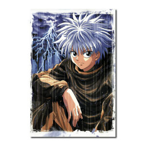 Hunter x Hunter Anime Killua Zoldyck GON·FREECSS T-1357 Art Poster 24x36 27x40