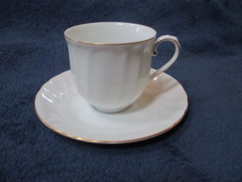 Mikasa Wedding Band L9709 Cup /& Saucer Set s