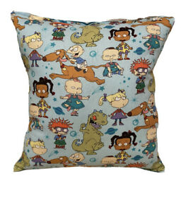 Rugrats-Pillow-Grouped-Rugrats-2021-Pillow-Handmade-in-USA-Hard-To-Find-Cartoon