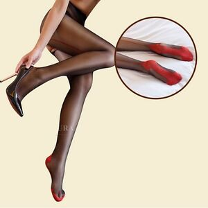 Back seam crotchless pantyhose