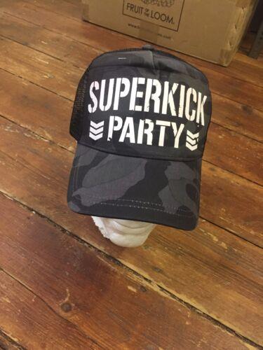 SUPERKICK PARTY Bullet Club Camo Snapback YOUNG Bucks