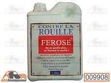 BIDON 1L FEROSE protecteur anti-corrosion convertisseur de rouille 2CV -9908-