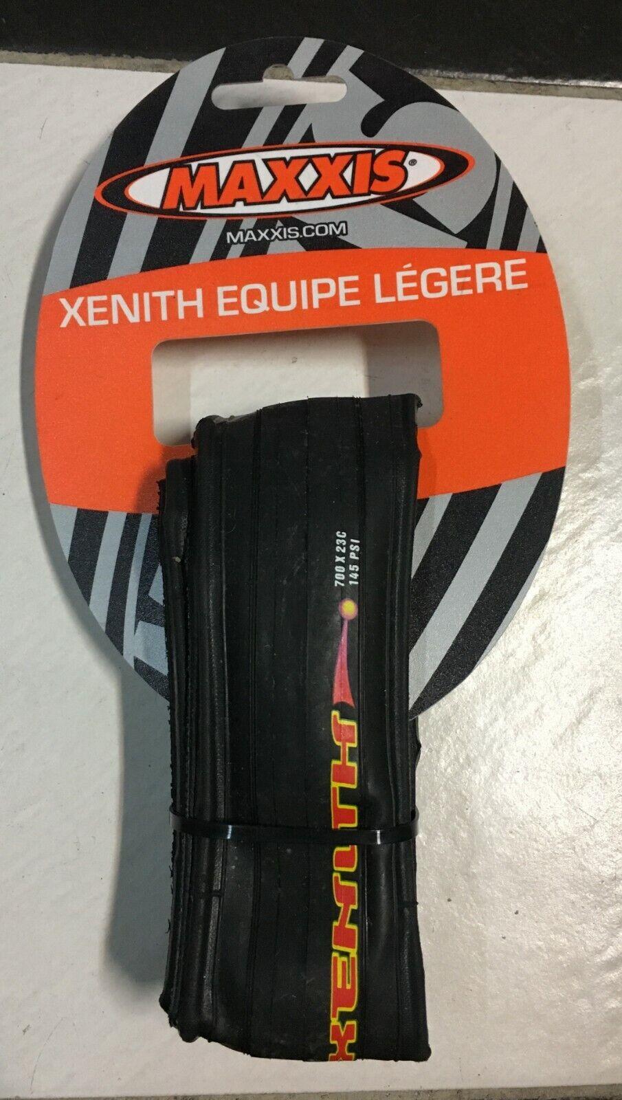 Copertoncino Bici Corsa pieghevole Maxxis Xenith Equipe Legere 700x23 Bike Tire