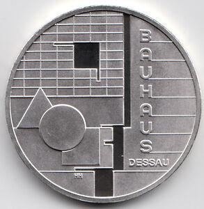10 Euro Gedenkmünze Bauhaus Dessau 2004 Polierte Platte Silber 925