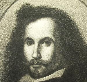 Self-Portrait-von-Bartolome-Esteban-Murillo-Graviert-von-mit-Masson-XIX