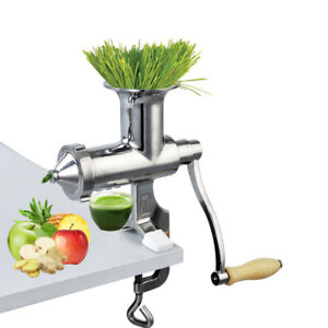 Stainless-Steel-Wheatgrass-Juicer-Manual-Fruit-Vegetable-Juice-Press-Extractor