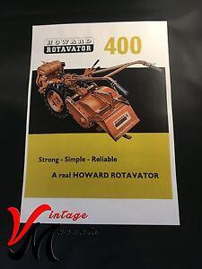 Howard-400-Rotavator-Rotovator-Brochure-A4-L102