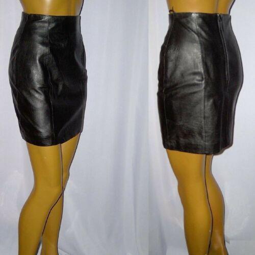 cuir en Jupe Wilsons cuir Soft Jupe cuir en Jupe en S73 Black 36 S Lammnappa Super Azaqfdzw
