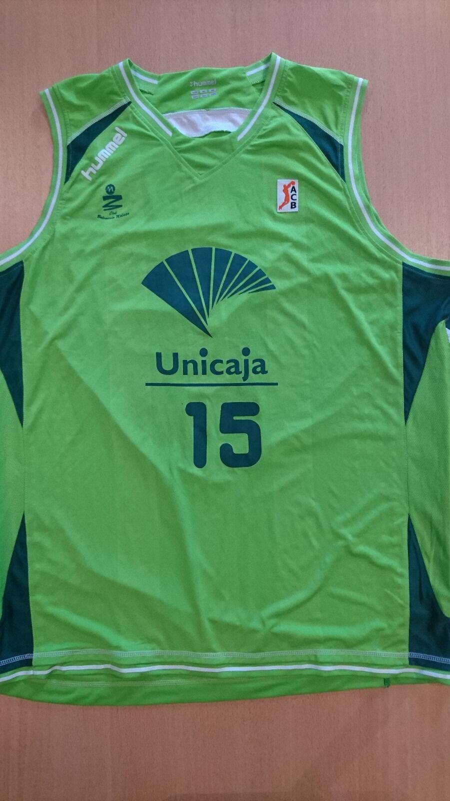 Camiseta baloncesto basketball jersey Nedzad Sinanovic Unicaja Málaga match worn