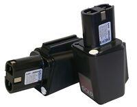 2x 9.6volt 2500mah Replacement Bosch Batteries For 3050vsrk, 3051vsrk 920vsr