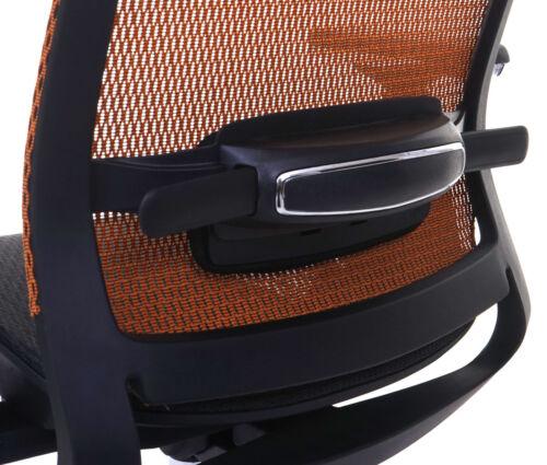 Bürostuhl HWC-A20 ergonomisch Kopfstütze Textil ISO9001 Schreibtischstuhl