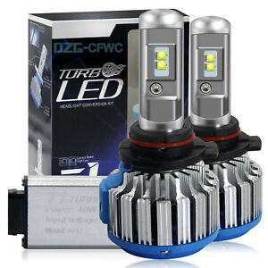 9012 HIR2 LED Headlight Bulbs Conversion Kit CREE 1800W 195000LM 6000K Hi/Lo