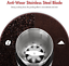 thumbnail 5 - Aigostar Electric Coffee Grinder Stainless Steel Bowl Spice Mill Beans Blender
