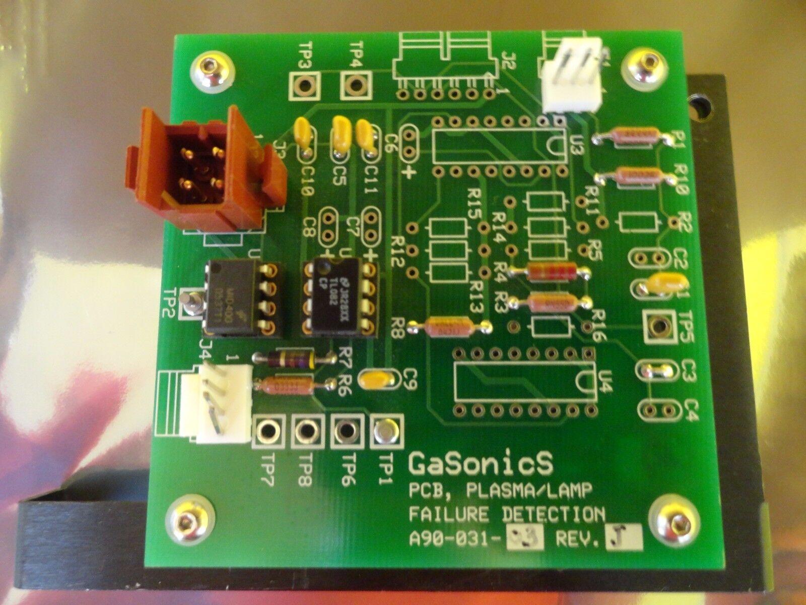 Gasonics a90-031-03 plasma/lamp detección de fallas de PCB PCB PCB Rev. h de trabajo usados c5b2a4