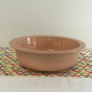 Fiestaware-Apricot-Large-Bowl-Fiesta-Retired-Peach-Pink-40-oz-Serving-Bowl