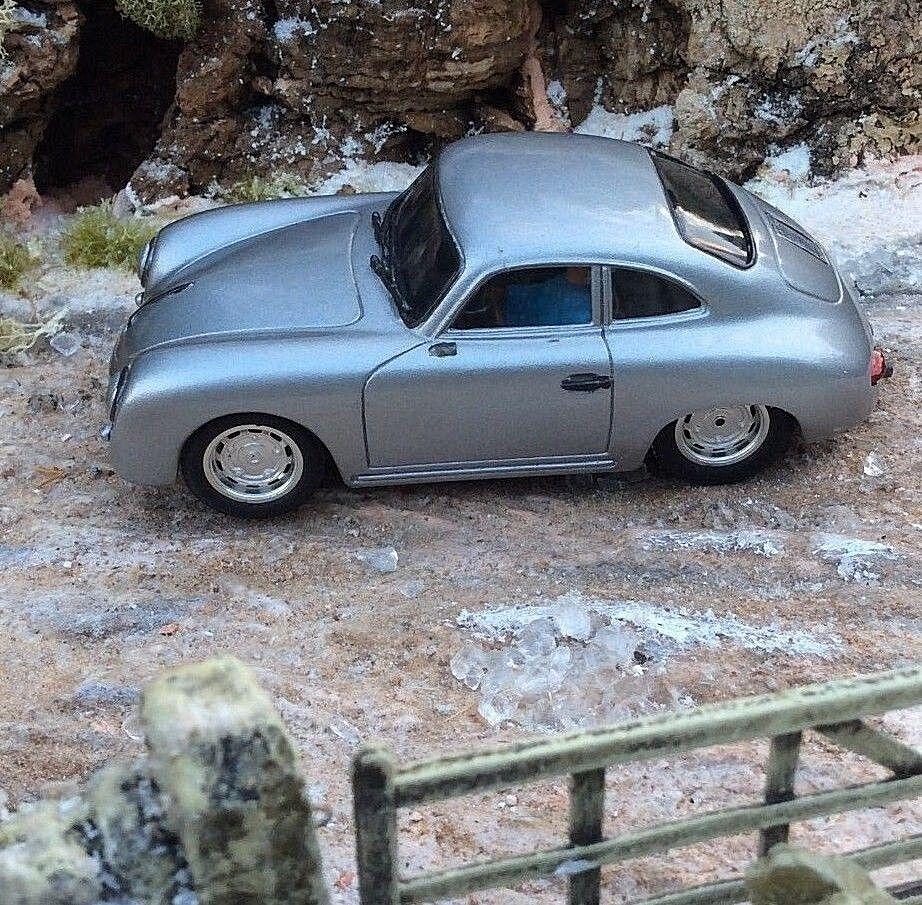Probuild 1/32 GTM Slot Car Vintage Porsche 356 Coupé Coupé Coupé 1948 RTR MB acabaf
