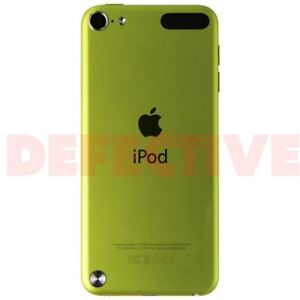 DEFECTIVE Apple iPod Touch (5th Gen) A1421 - 32GB / Yellow ...