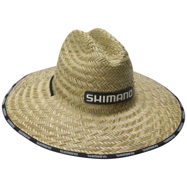 70fc361e2d9 Shimano Sunseeker Straw Hat - Unisex Natural OSFM for sale online