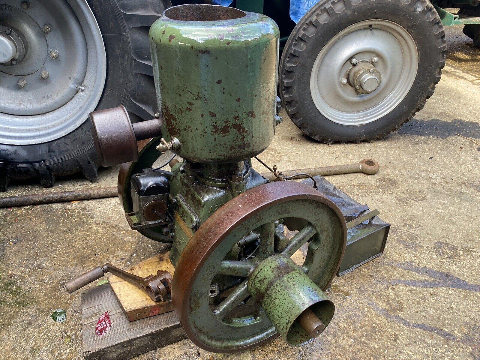 1927 Lister A Junior Stationary Engine