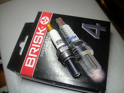 4X RACING BRISK Spark Plug AOR10LGS Suzuki GSXR 600 750 GSX K1-K9 HOND RVF