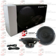 """BRAND NEW ROCKFORD FOSGATE 6.5-INCH 6-1/2"""" 3-WAY CAR AUDIO COAXIAL SPEAKERS PAIR"""