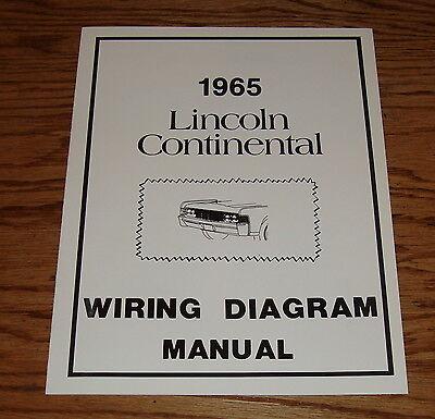 1965 lincoln continental wiring diagram manual 65 ebay. Black Bedroom Furniture Sets. Home Design Ideas